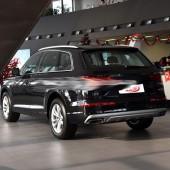 Продольные рейлинги Audi Q7 4M дизайн OEM