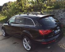 Поперечины на продольные рейлинги Audi Q7 4L
