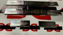 Защитные накладки порогов Форд Мондео 4