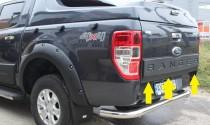 Накладка на заднюю крышку багажника Форд Рейнджер 3 Т6