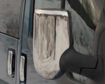 Хром накладки на зеркала Форд Транзит 6