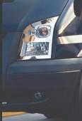 Хром накладки на передние фары Форд Транзит 5