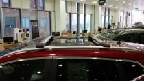 Фирменные поперечины на крышу Чери Тиго 5