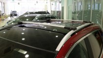 Купить алюминиевые поперечины на Citroen C3 Picasso фото