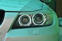 Декоративные реснички фар Bmw 3 E90 (тюнинг оптики)