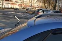 Спойлер на стекло Шевроле Лачетти седан (спойлер на заднее стекло Chevrolet Lacetti)
