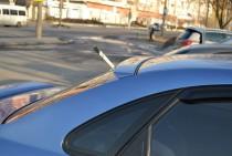 Задний аэродинамический спойлер на стекло Шевроле Лачетти седан
