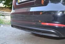 Задняя накладка на бампер Skoda Octavia A5 (спорт обвес заднего