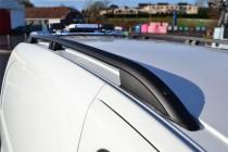 Рейлинги на крышу Renault Sandero 2 дизайн Skyport цвет черный