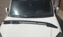 Продольные рейлинги Fiat Fullback черные