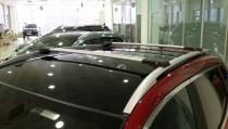 Поперечины на рейлинги Fiat Sedici алюминиевый профиль