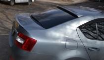 Аэродинамический спойлер накладка на заднее стекло Шкода Октавия
