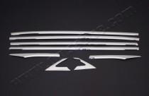 Хромированные молдинги стекол Хонда Цивик 10 полный комплект