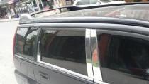 Хромированные молдинги дверных стоек Honda HR-V