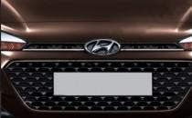 Хром на решетку радиатора Hyundai i20 GB