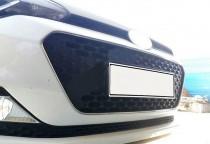 Хром окантовка решетки радиатора Hyundai i20 GB