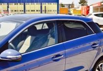 Хром окантовка стекол Hyundai i20 GB полный комплект