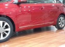 Хромированные молдинги дверей Hyundai i20 GB