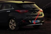 Хром накладка на низ бампера Hyundai i30 GD