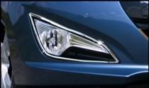 Хром накладки на противотуманные фары Hyundai i40