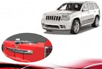 Хром накладка над номером Jeep Grand Cherokee WK