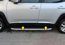 Хромированные молдинги дверей Jeep Renegade BU