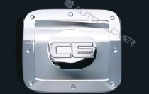 Хром накладка на лючок бензобака Киа Церато 1