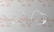 Хром накладки на стопы Киа Церато 1