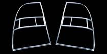 Хром накладки на стопы Киа Спортейдж 2