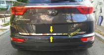 Хромированная кромка багажника Киа Спортейдж 4