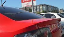 Тюнинг спойлер на крышку багажника Мазда 3 седан первого поколен