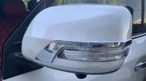 Хром полоски на зеркала Lexus LX570