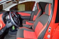 Чехлы Тойота Ярис в магазине експресстюнинг (авточехлы на сидень