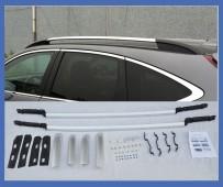 Серые разборные рейлинги на крышу Honda Cr-V 4 2012-2015