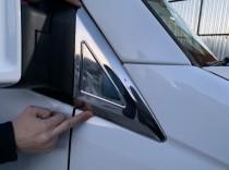 Хром накладка на треугольник возле зеркала Мерседес Спринтер 906