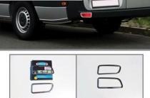 Хром накладки на рефлекторы Мерседес Спринтер 906
