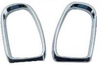 Хромированная окантовка зеркал Mercedes C-class W203