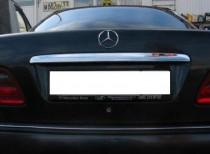 Omsa Line Хром накладка над номером Mercedes C-class W203