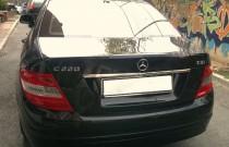 Хром накладка над номером Mercedes C-class W204