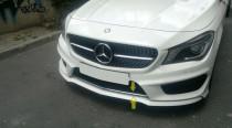 Хром накладка на передний бампер Mercedes CLA C117