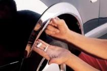 Хром накладки на арки Mercedes CLK W208