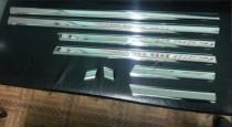 Хромированные молдинги дверей Мерседес W124