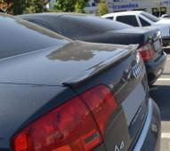 Спойлер на крышку багажника Audi A4 B6