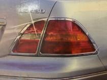Хром накладки на стопы Lexus LS UCF30
