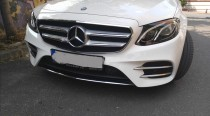 Хром накладки на противотуманные фары Mercedes W213
