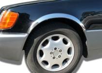 Хром накладки на арки Mercedes W140