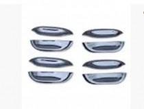 Хромированные мыльницы под ручки Mercedes W140