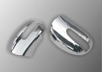 Хром накладки на зеркала Mercedes GL class X164