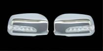 Omsa Line Хром накладки зеркал LED Mitsubishi Lancer 9
