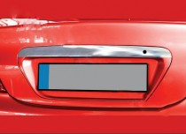 Хром накладка над номером Mitsubishi Lancer 9